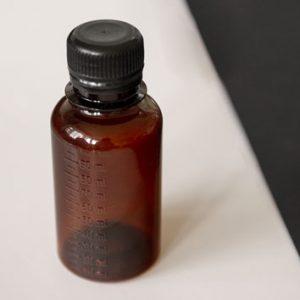 Бутылка ПЭТ 100 мл коричневая